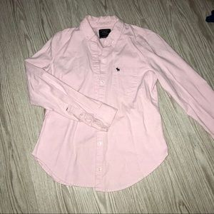 """Abercrombie & Fitch """"Button up Icon Shirt"""" in pink"""